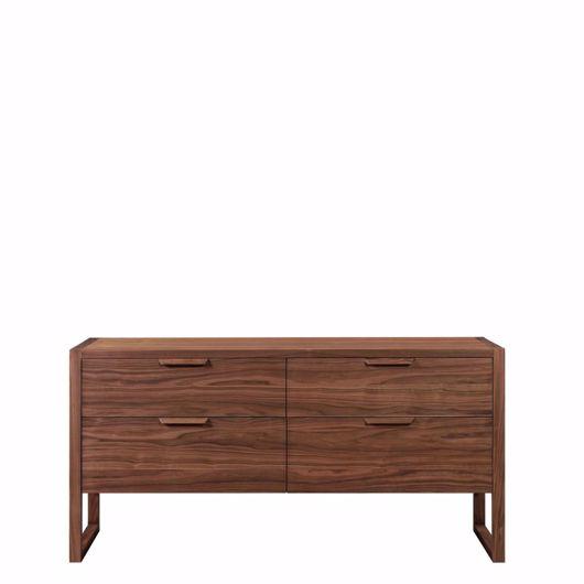 wooden double dresser