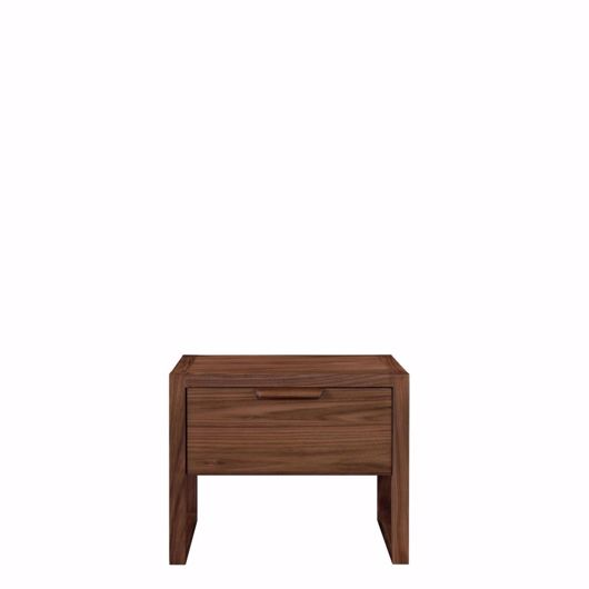 wood nightstand