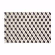 modern cube rug