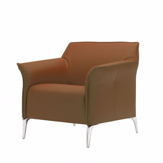 Picture of MAYON Armchair - Brown