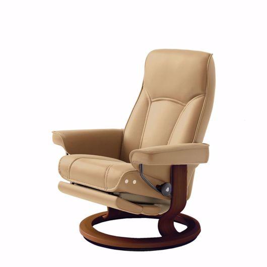 Image de STRESSLESS SENATOR CLASSIC Chair with Leg Comfort