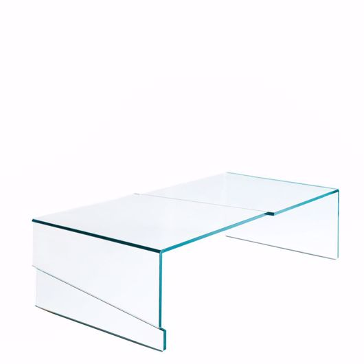 glass coffee table