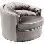 Picture of Music Hall Swivel Chair - Grey