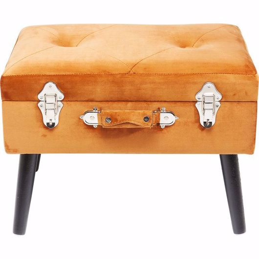 图片 Suitcase Foot Stool - Orange