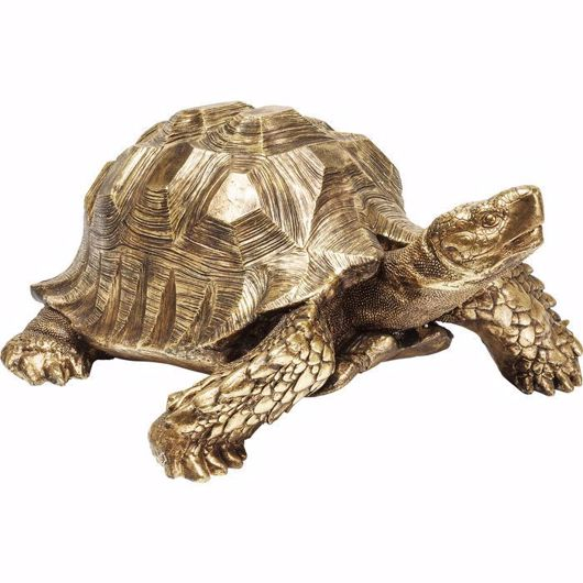 Picture of Big Turtle Deco Figurine - Gold