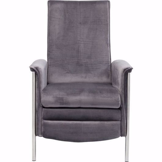 图片 Relax Chair - Grey Velvet