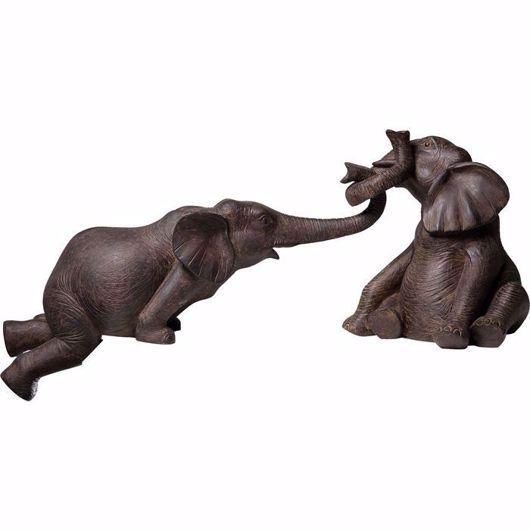 图片 Elefant Zirkus Figurine