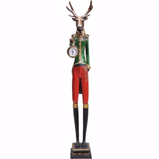 Image de Gentleman Deer Table Clock