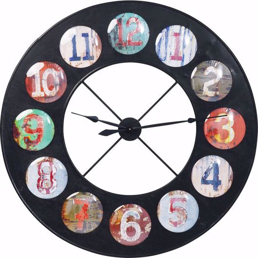 Image de Vintage Colore Wall Clock 119