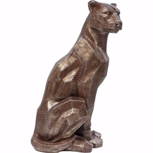 Image de Sitting Cat - Copper Rivet