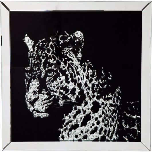 Picture of Leopard Mirror Picture Frame