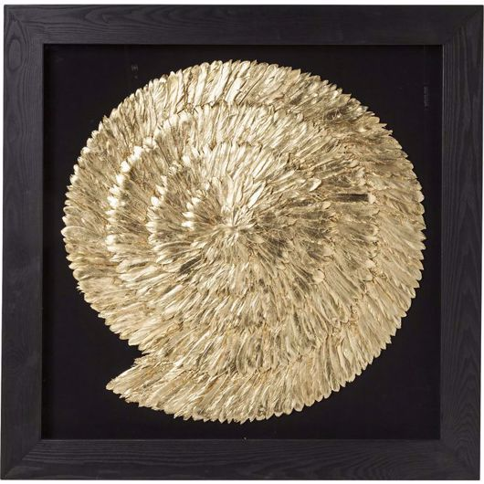 Image de Golden Snail Wall Art