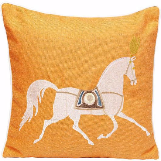 图片 Classy Horse Cushion - Orange