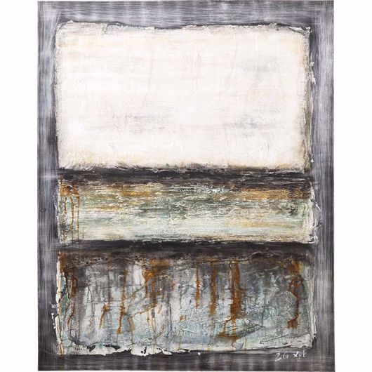 Image de Abstract Grey Line One Painting