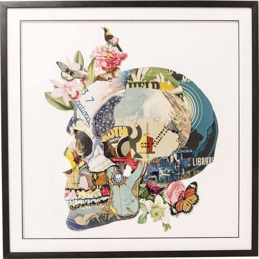 Picture of Skull Framed Art