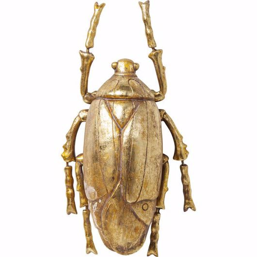 Picture of Plant Beetle Wall Decoration - Gold