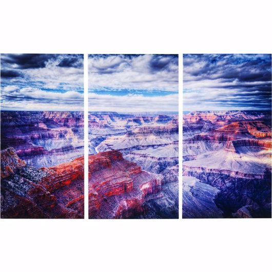 图片 Grand Canyon Glass Triptychon