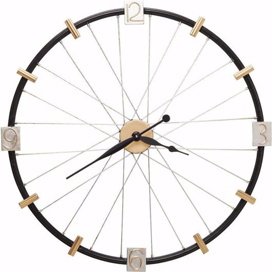 Image de Spoke Wheel Wall Clock