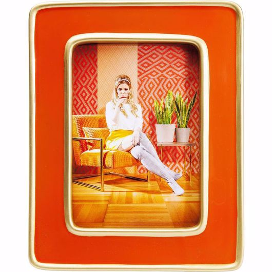 Image de Zebra Frame - Orange