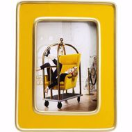 Image sur Zebra Frame - Yellow