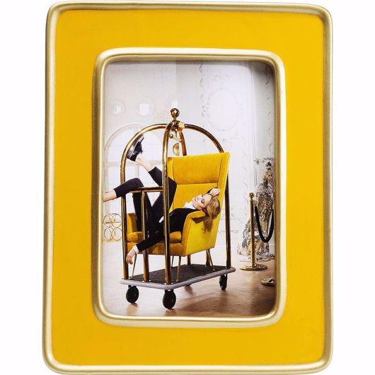 Image de Zebra Frame - Yellow