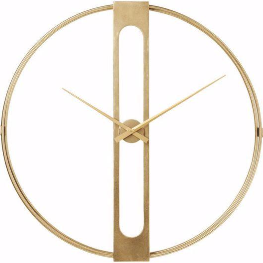 Image de Clip Gold Wall Clock