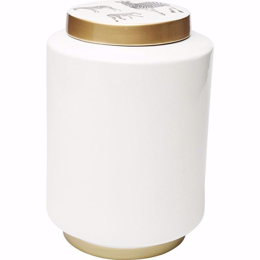 Image sur Zebra Jar