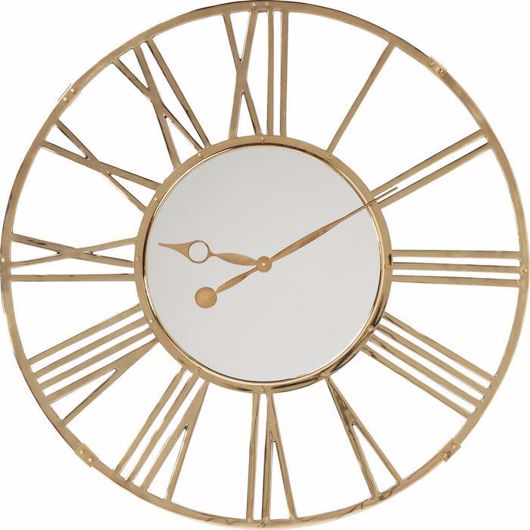 Picture of Giant Gold Wall Clock