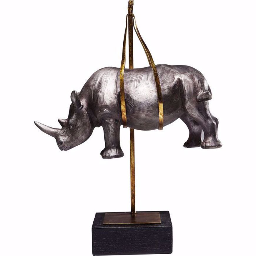 Picture of Hanging Rhino Figurine