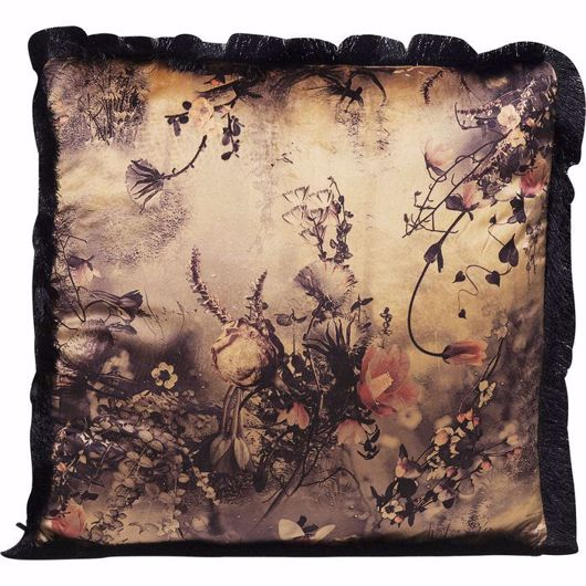 Image de Romantic Garden Fringe Cushion