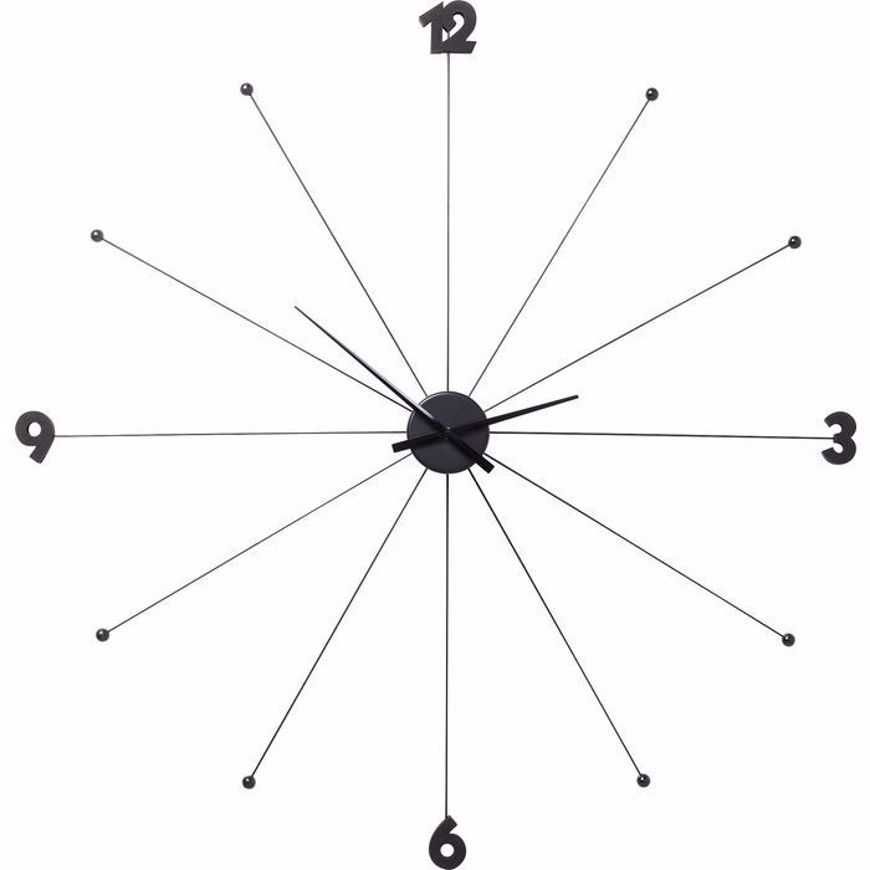 Picture of Umbrella Like Wall Clock - Black