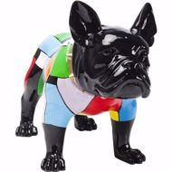 Image sur Bulldog Colore Figurine