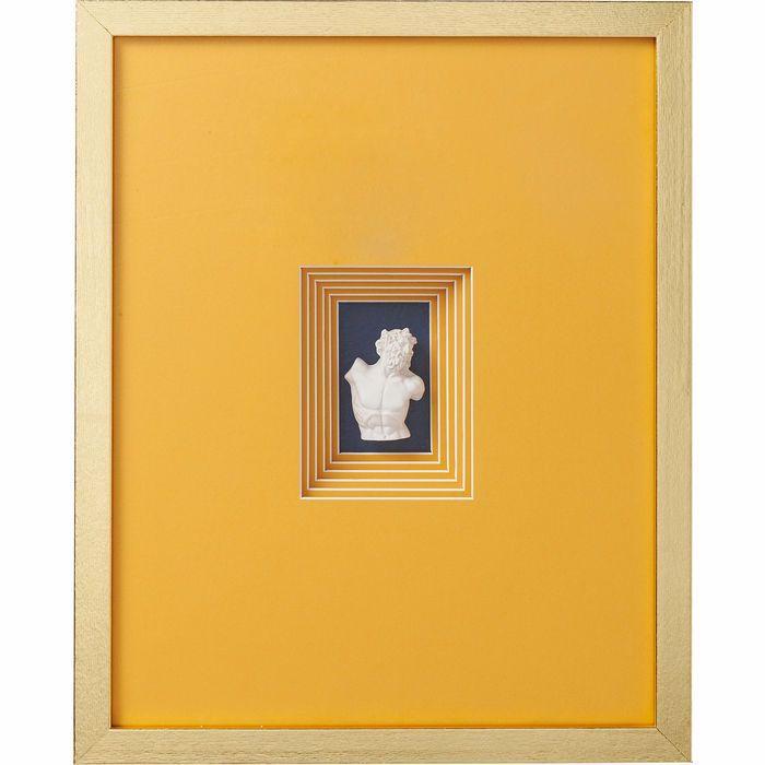 Image sur Ancient Bust Orange Four