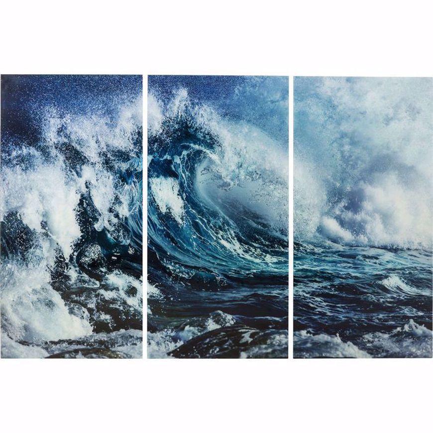 Image sur Wave Glass Triptychon