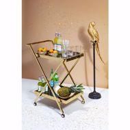 Image sur Casino Gold Tray Table
