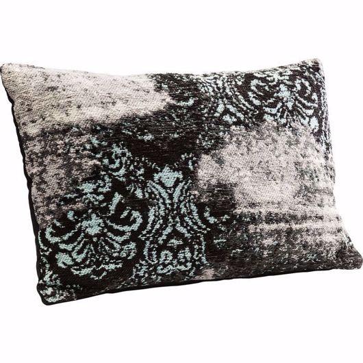 Image de Kelim Ornament Cushion - Turquoise