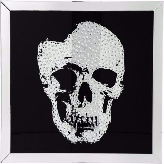 图片 Mirror Skull Wall Art