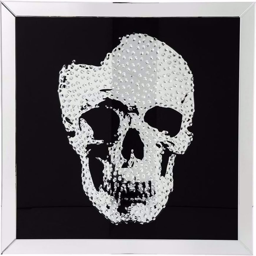 Picture of Mirror Skull Wall Art