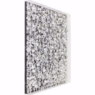 图片 Silver Flower Wall Art