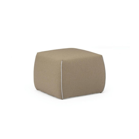 图片 GAIA Pouf - YELLOW/BEIGE