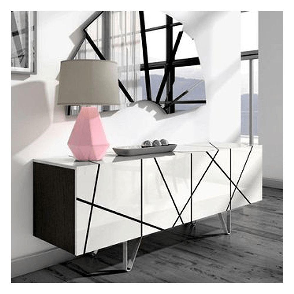 Image sur STRIPES Sideboard - White