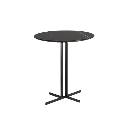图片 ESTRO Accent Table - Black Marble