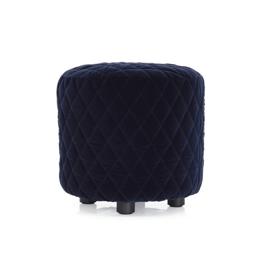 Picture of MELPOT Quilted Round Ottoman