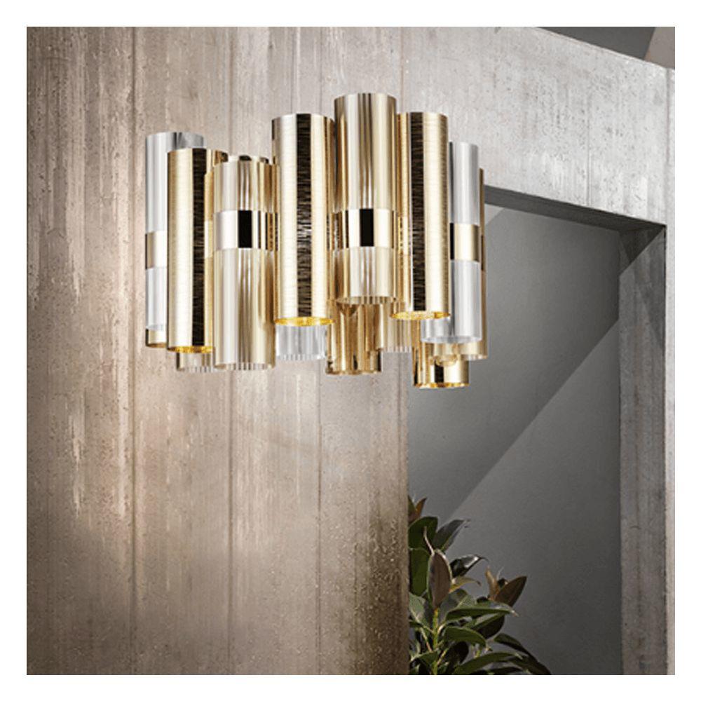 Image sur La Lollo Suspension Lamp - Gold