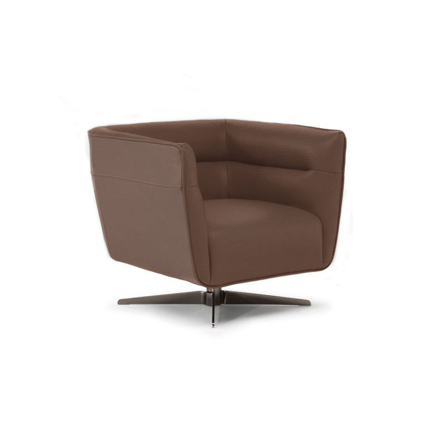 Picture of SPIRITOSA Swivel Chair - Brown