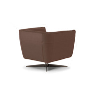 Image sur SPIRITOSA Swivel Chair - Brown