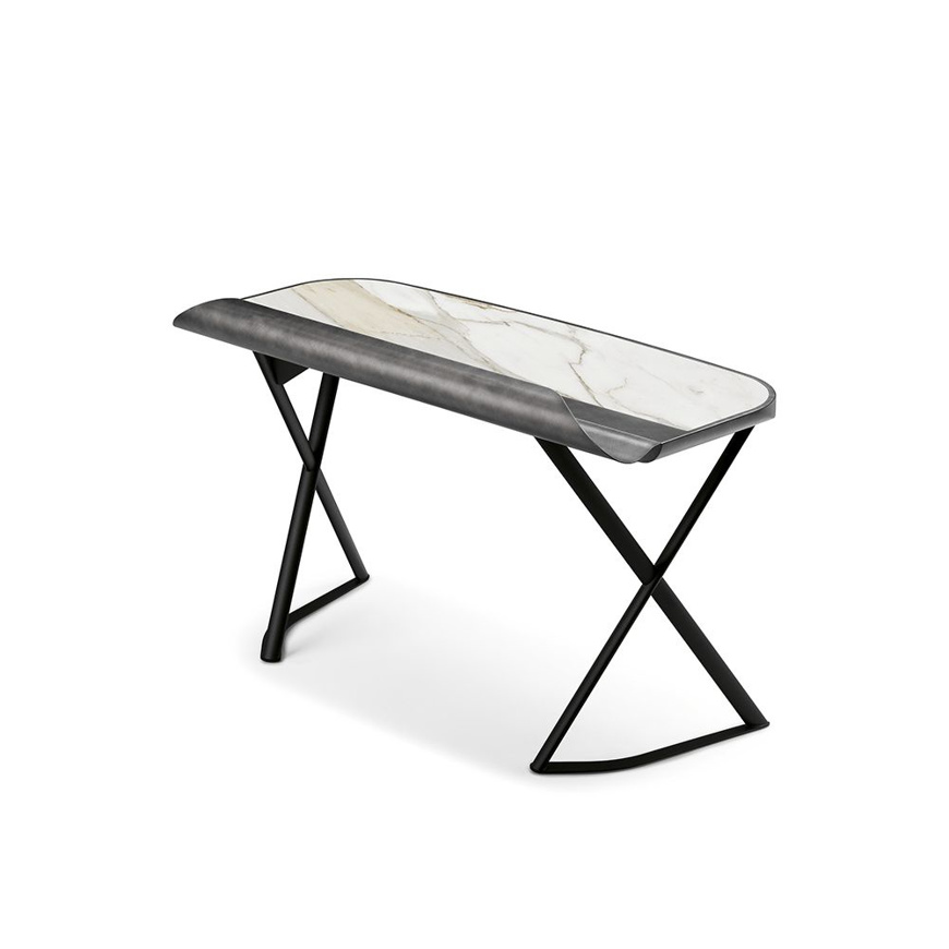 Picture of COCOON Desk - Brushed Grey