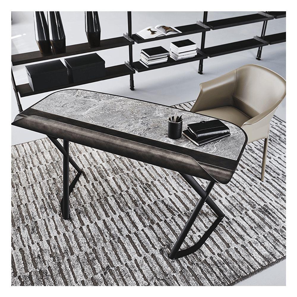 图片 COCOON Desk - Brushed Grey