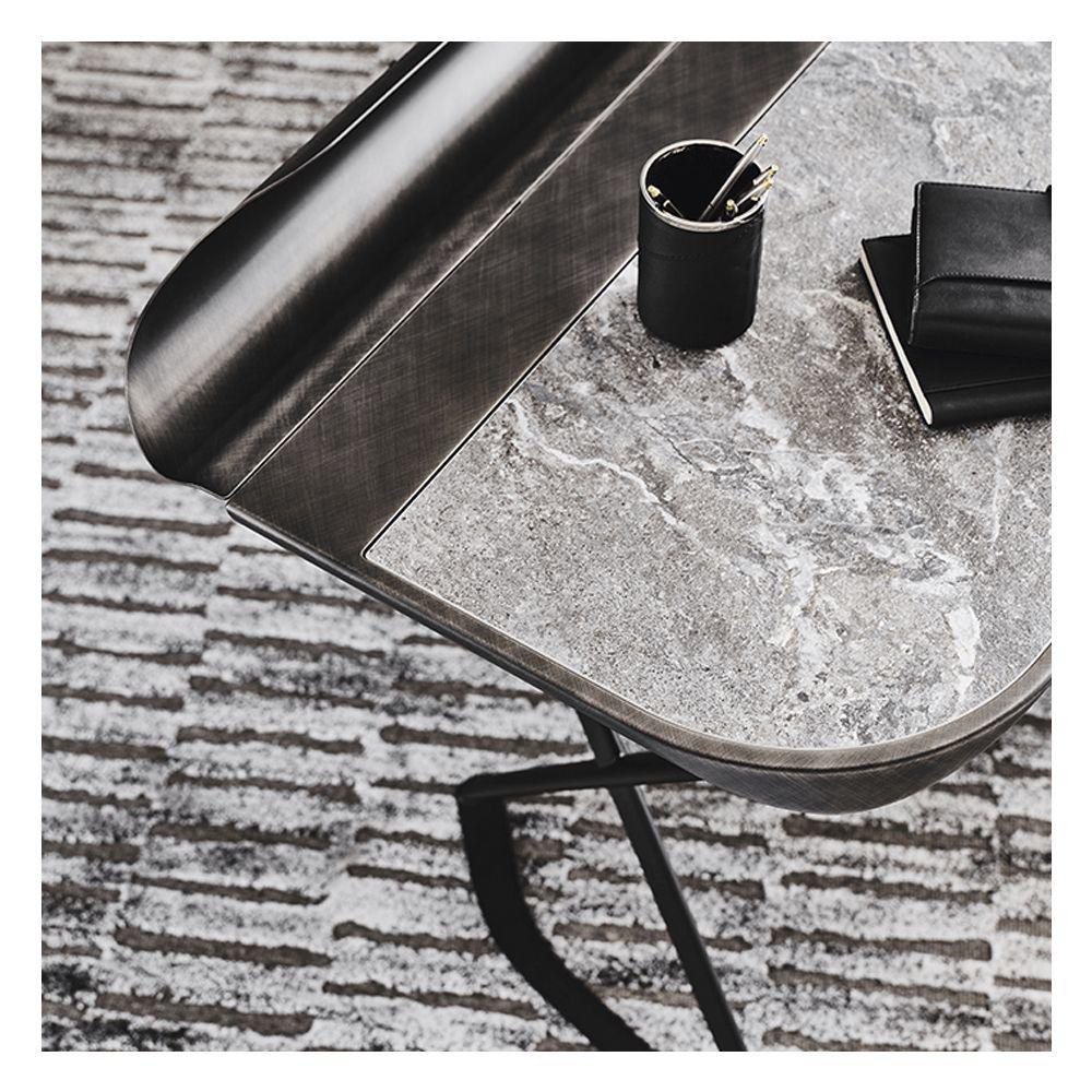 Image sur COCOON Desk - Brushed Grey