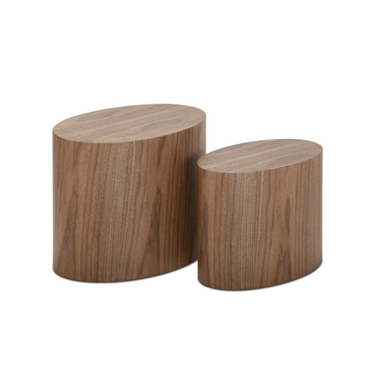 Image de 2-Set Wooden Tables